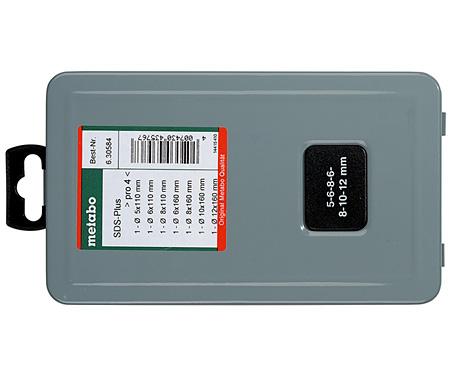 Набор сверл METABO SDS-Plus Pro 4 (7 шт.)