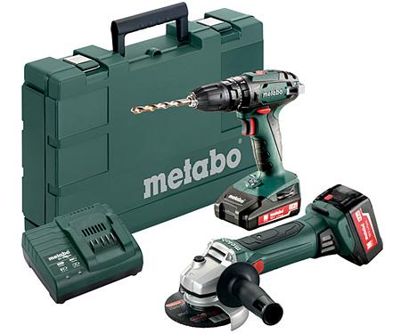Набор инструментов METABO Combo Set 2.4.4 18 V