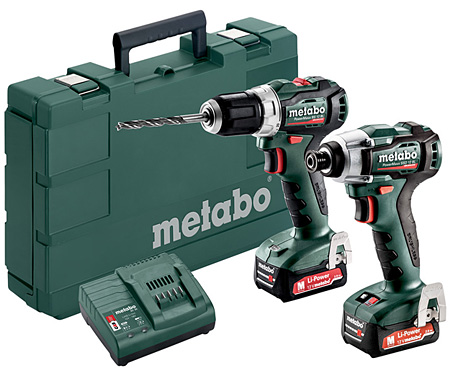 Набор инструментов METABO Combo Set 2.7.3 12 V BL