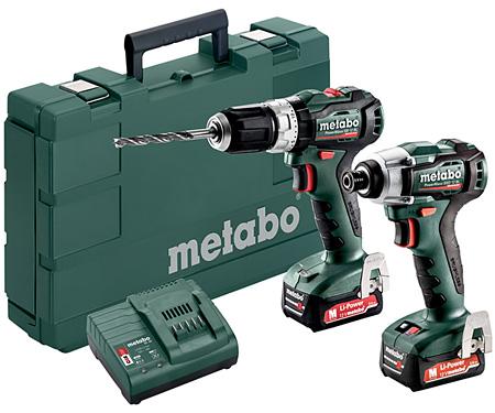 Набор инструментов METABO Combo Set 2.7.5 12 V BL