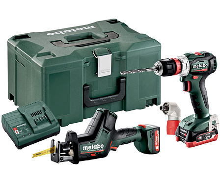 Набор инструментов METABO Combo Set 2.7.8 12 V BL