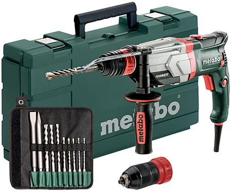 Перфоратор METABO UHEV 2860-2 Quick Set (10 шт.)