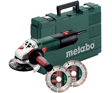 Болгарка METABO W 12-125 Quick Set