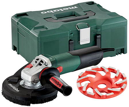 Болгарка METABO WE 15-125 HD Set GED + Professional