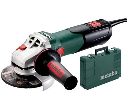 Болгарка METABO WEV 10-125 Quick + кейс