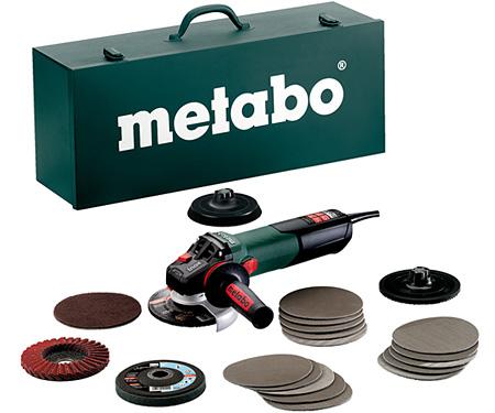 Болгарка METABO WEV 15-125 Quick Inox Set